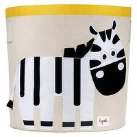 Decor/Accessories - 3 Sprouts Storage Bin Zebra I Target - kids storage bin, nursery storage bin, playroom storage bin, zebra storage bin,