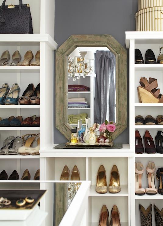 shoe shelves contemporary closet amerelife. Black Bedroom Furniture Sets. Home Design Ideas