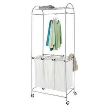 Miscellaneous - Whitmor Laundry Center I Target - laundry sorter, laundry bins, laundry hamper, laundry divider, laundry cart, laundry hamper with drying rail, laundry room organizer,