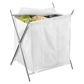 Miscellaneous - 3-Compartment Folding Hamper I Target - folding laundry hamper, laundry sort, laundry bins, laundry hamper, laundry divider,