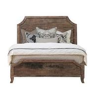 Beds/Headboards - 'Cosmo' Antique Acacia Wood Bed | Overstock.com - antique acacia wood bed, acacia wood bed, wooden bed,