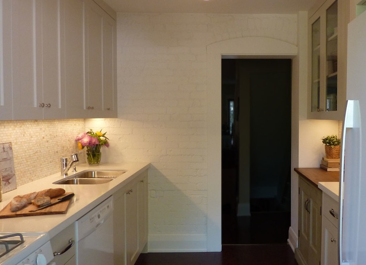 Galley Kitchen - Contemporary - kitchen - Benjamin Moore ...