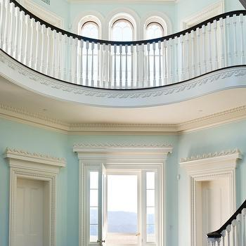Turquoise Rooms, Traditional, entrance/foyer, Andrew Skurman Architects