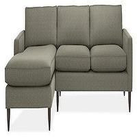 Seating - Murray Sofas with Chaise - Sectionals - Living - Room &amp; Board - murray sofa, sofa with chaise lounge