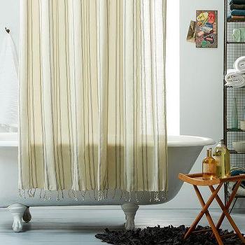 Pueblo Shower Curtain, west elm