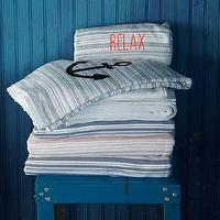 Bath - Spa Stripe Towel | west elm - striped bath towel, striped cotton bath towel, striped cotton terry towel,