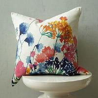 Pillows - Fiesta Floral Pillow Cover | west elm - floral pillow, wildflower pillow, botanical pillow,