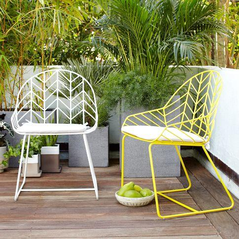 Bend dining chair west elm for West elm yellow chair