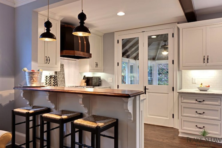 Seagrass Counter Stools - Transitional - kitchen - Blake ...