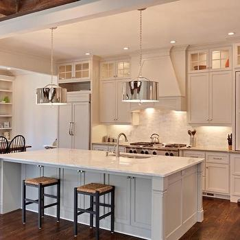 Robert Abbey Porter Pendant, Transitional, kitchen, Blake Shaw Homes