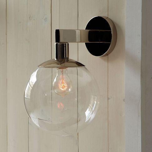 globe outdoor sconce west elm. Black Bedroom Furniture Sets. Home Design Ideas