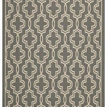 Rugs - Martha Stewart Living Temple Gate All-Weather Area Rug | HomeDecorators.com - geometric taupe outdoor rug, geometric outdoor rug, taupe outdoor rug,