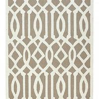 Rugs - Archer Area Rug I HomeDecorators.com - geometric taupe rug, geometric taupe and cream rug, taupe and cream rug,