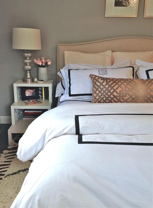 Step Nightstand Contemporary Bedroom Erin Gates Design