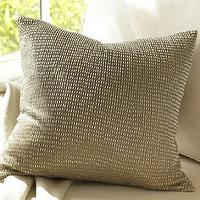 Pillows - Rustic Luxe Beaded Ombre Pillow Cover | Pottery Barn - beaded pillow, glass beaded pillow, ombre beaded pillow,