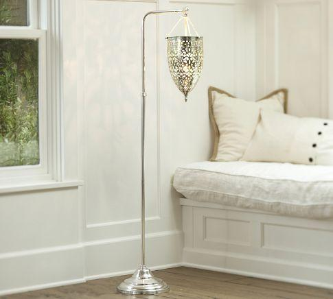 Geena Floor Lamp Pottery Barn