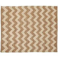 Rugs - Zig-Zag Braided Jute Rug | Pottery Barn - chevron jute rug, zigzag jute rug, zig-zag jute rug,