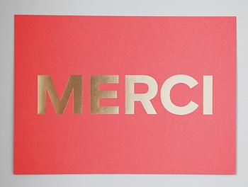 Art/Wall Decor - MERCI Coral+Gold I MadeByGirl: - merci art, merci art print, coral and gold merci word art, merci word art print,