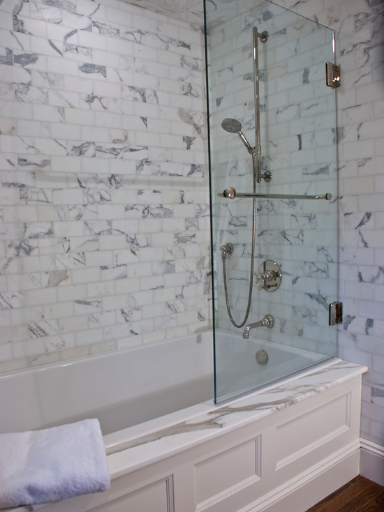 Bath Tub Surrounds For Tubs With Only Two Walls