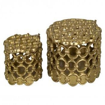 Brass Link Boxes, Jayson Home