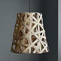 Lighting - Birds Nest Hanging Lamp | Serena & Lily - woven lamp, woven hanging lamp, woven organic lamp,