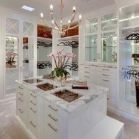 Gordon Gibson Construction - closets - luxurious closet, walk in closet, luxurious walk in closet, closet island, see through closet island top, closet island glass top, closet island see through top, built ins, closet built ins, buil tin cabinets, closet buil tin cabinets, mirrored backsplash, floor to ceiling mirror, mirrored doors, mirrored closet doors, vintage louis vuitton, louis vuitton luggage, vintage louis vuitton luggage, louis vuitton suitcase, vintage louis vuitton suitcase,