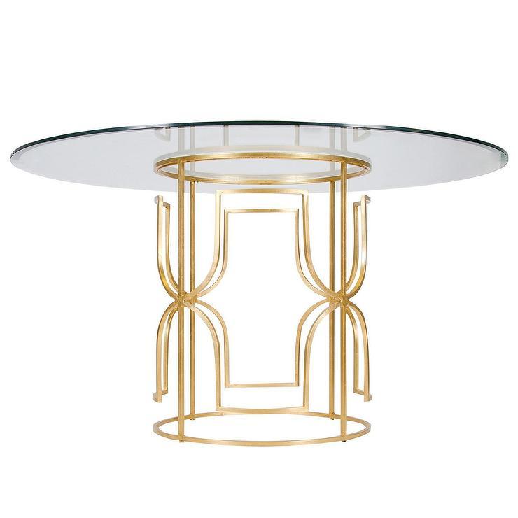Worlds Away Jennifer Gold Leaf Dining Table I Layla Grayce : c7b30320b6f4 from www.decorpad.com size 740 x 740 jpeg 33kB