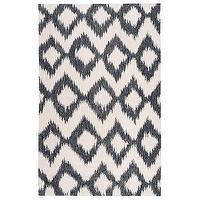 Rugs - Surya Frontier Enchant Ink Hand Woven Flatweave Rug I Layla Grayce - black and white abstract diamond rug, black and white contemporary rug, black and white zigzag diamond rug,