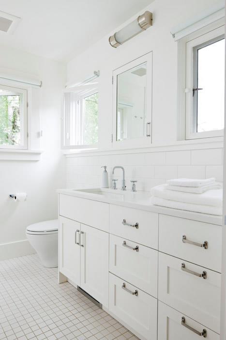 All white bathroom contemporary bathroom jas design for Contemporary white bathroom