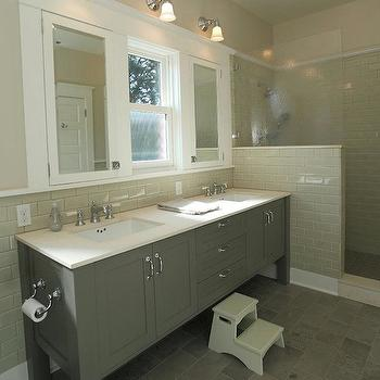 Gray Bathroom, Contemporary, bathroom, JAS Design Build