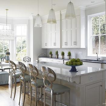 Bay Window Dining Nook, Transitional, kitchen, Janie Molster Design
