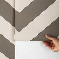 Wallpaper - Zee Wallpaper I Urban Outfitters - chevron wallpaper, zigzag wallpaper, cream and gray chevron wallpaper, cream and gray zigzag wallpaper,