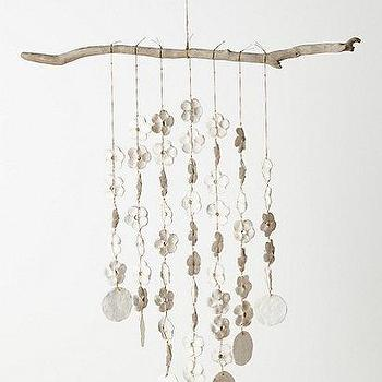 Art/Wall Decor - Nautley Mobile I Anthropologie.com - organic mobile, mobile, textural mobile,