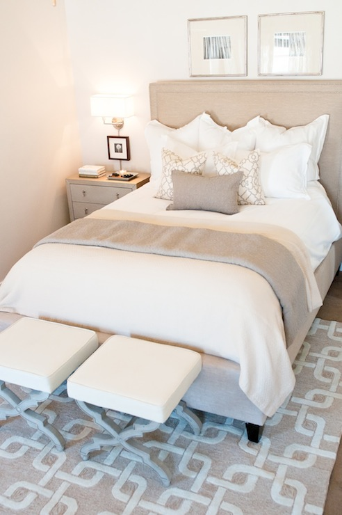 white and beige bedroom contemporary bedroom ashley