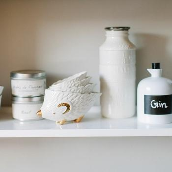 The Every Girl - kitchens - measuring hedgies, hedgehog measuring bowls, anthropologie measuring bowls, chalkboard label bottles, Anthropologie Measuring Hedges,