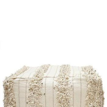 Seating - Moroccan wedding Pouf | Calypso St. Barth - moroccan pouf, moroccan wedding pouf, morocco pouf,