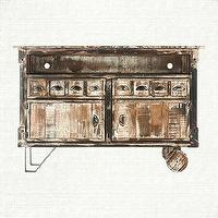 Storage Furniture - Anton Media Console | Arhaus Furniture - distressed media console, reclaimed wood media console, distressed reclaimed wood media cabinet,