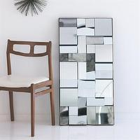 Mirrors - Capri Mirror by Kenneth Wingard | KENNETH WINGARD - modern mirror, modern floor mirror, angled floor mirror,