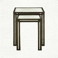 Tables - Nesting Tables | Arhaus Furniture - nesting tables, mirrored nesting tables, antiqued mirrored nesting tables,