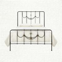 Beds/Headboards - Ingrid Bed | Arhaus Furniture - french style wrought iron bed, wrought iron bed, wrought iron bed frame,