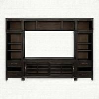 Storage Furniture - Tremont Small Wall Unit | Arhaus Furniture - media center, campaign style media center, campaign furniture, campaign style furniture,