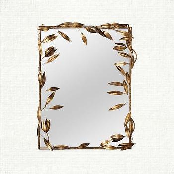 Leaf Mirror, Arhaus Furniture