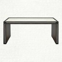 Tables - Isla Coffee Table | Arhaus Furniture - mirrored coffee table, hollywood regency style coffee table, mirrored regency style coffee table,