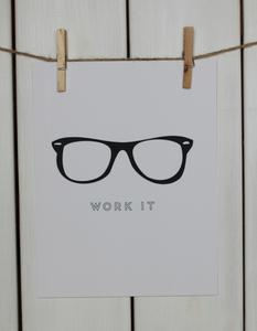 WORK IT (WHITE) I Stephanie Sterjovski Photography & Design