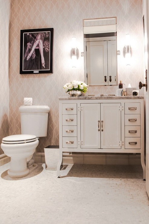 Bathroom wallpaper restoration hardware mirror restoration hardware