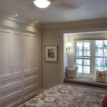 Traditional, bedroom, Benjamin Moore Overcast, Lejla Eden Interiors