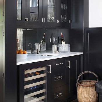 Black Butler's Pantry, Transitional, dining room, TerraCotta Properties