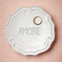 Decor/Accessories - Amore Dish I BHLDN - amore dish, amore jewelry dish, love jewelry dish,