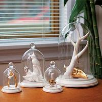 Decor/Accessories - Bell of the Ball Collection Small Bell Jars I Imm-Living.com - bell jars, wishbone bell jar, hawks foot bell jar, anchor bell jar,
