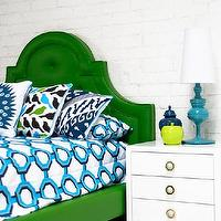 Bedding - Palm Beach Bedding in Turquoise/Navy/Aqua I roomservicestore - geometric turquoise and white bedding, modern turquoise and white bedding, turquoise navy aqua and white modern bedding,